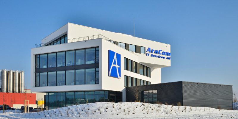 AraCom Bürogebäude
