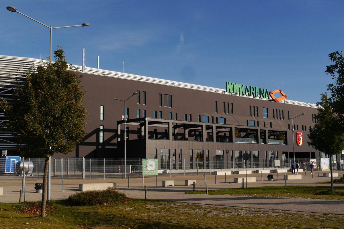 Anbau an WWK Arena